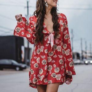 Flynn Skye Floral London Mini Dress